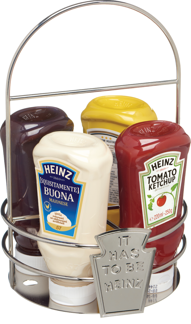 Heinz Prefilled Caddie 4 bottiglie image