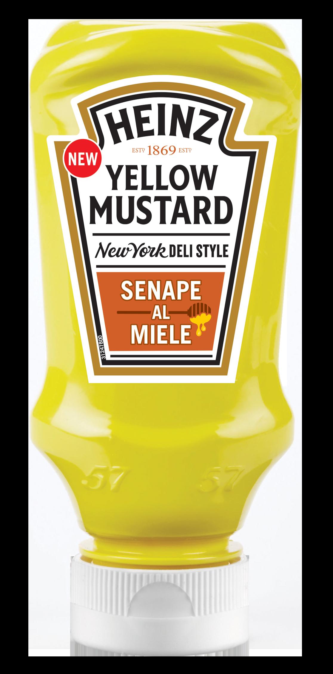 Heinz Senape al Miele 240g Top Down image
