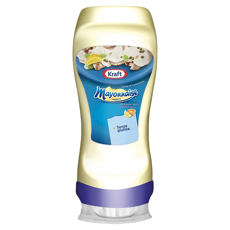 Kraft Maionese 220ml Top Down image