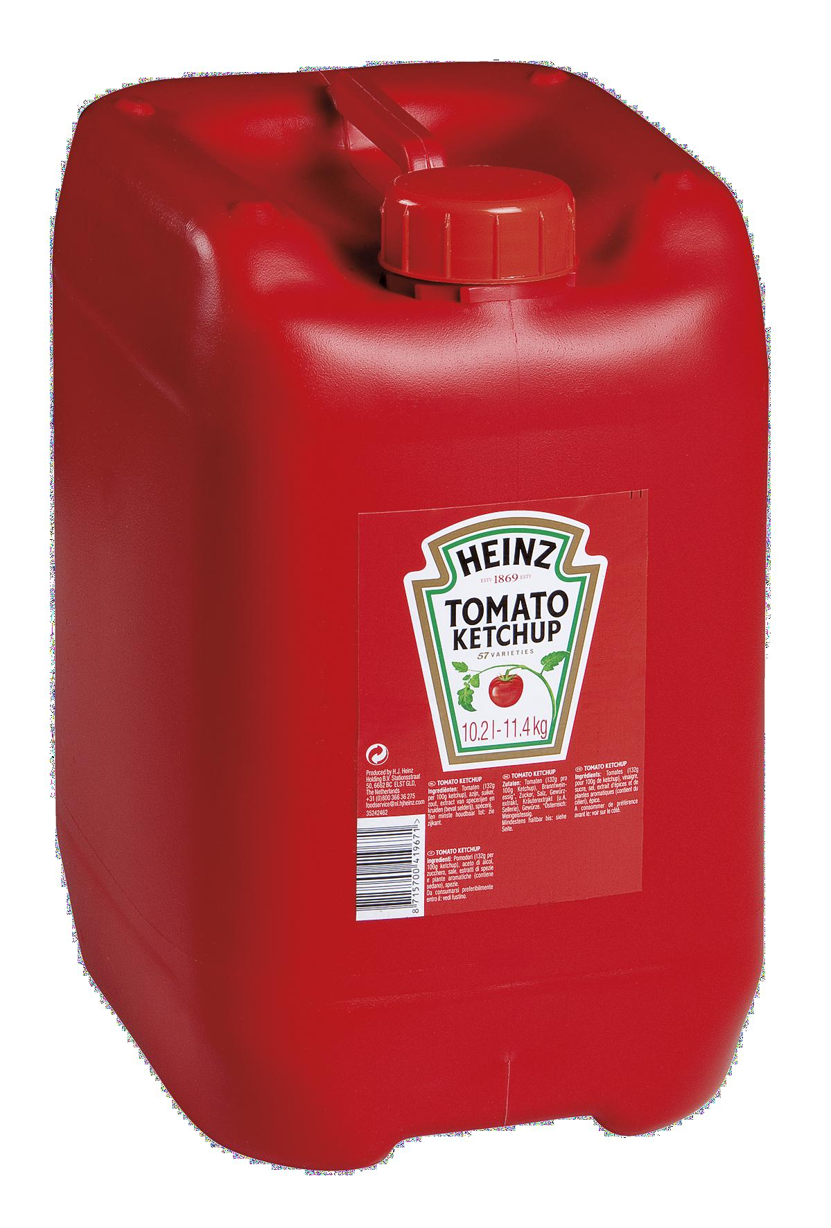 Heinz Tomato Ketchup 11,4kg Fusto image