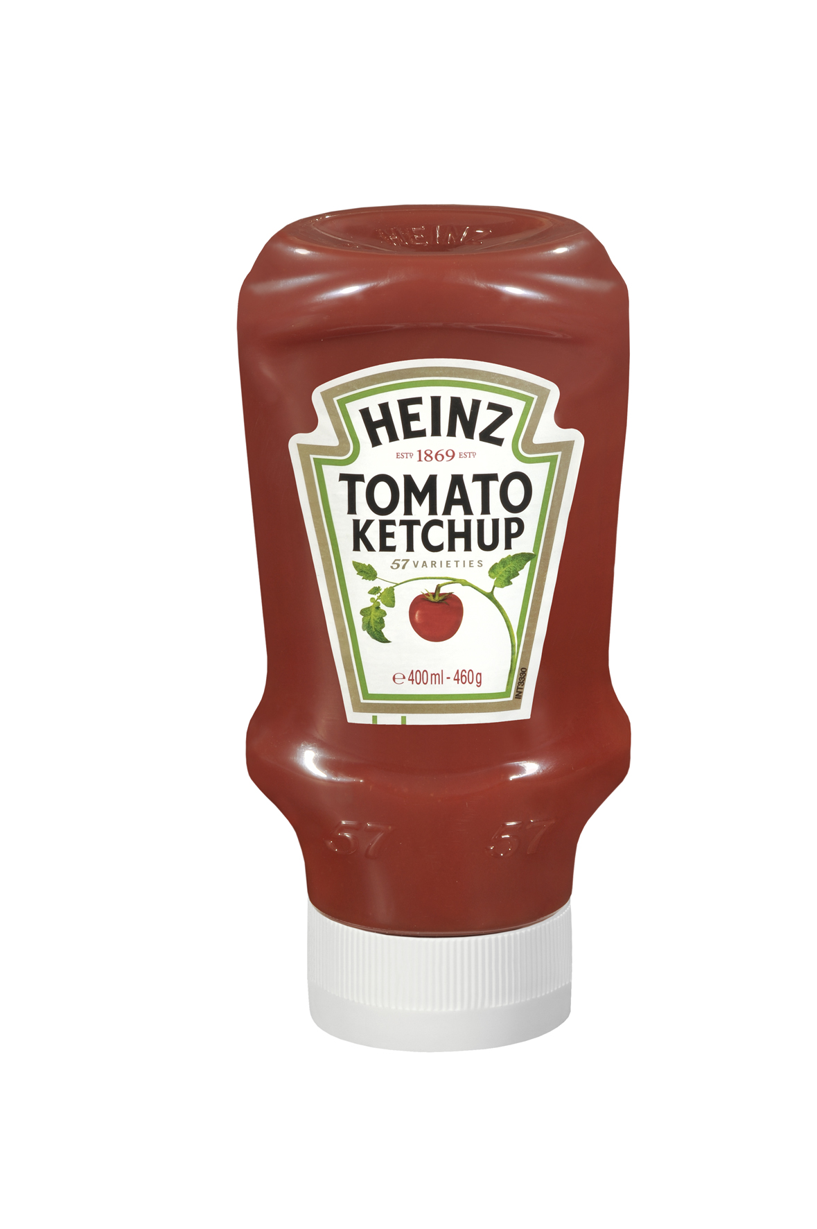 Heinz Tomato Ketchup 460g Top Down image
