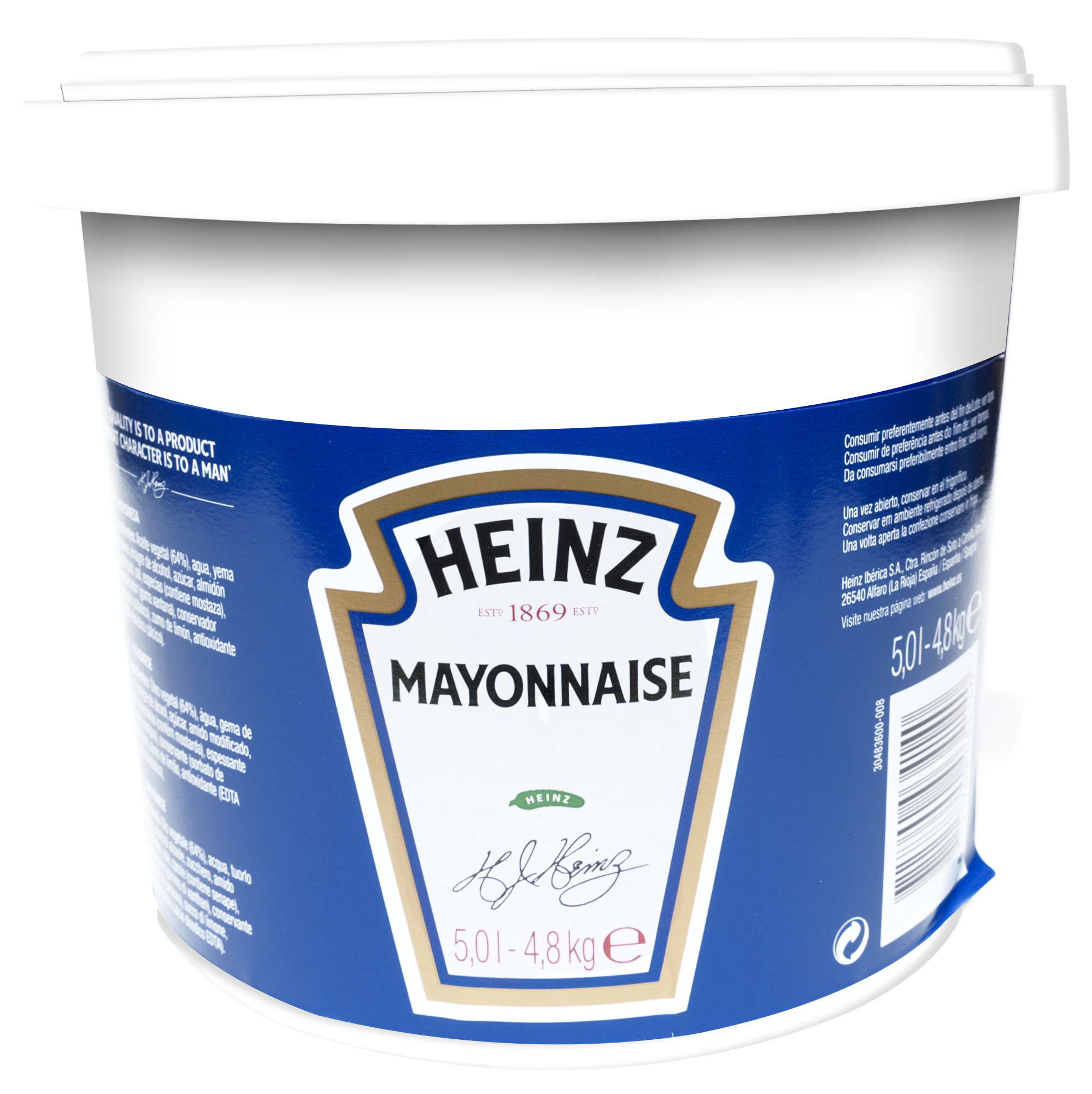 Heinz Maionese 4,8 kg Secchio image