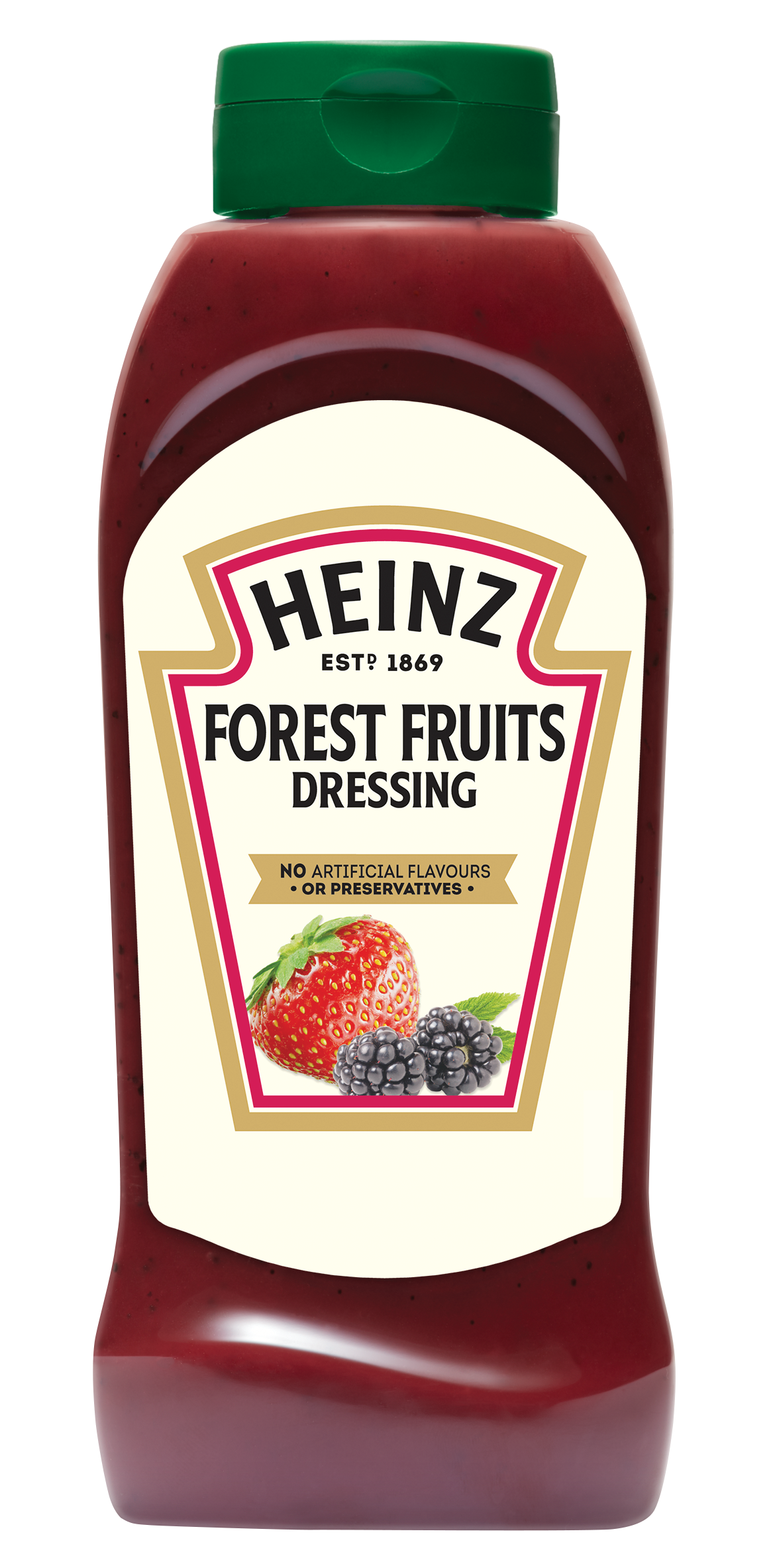 Heinz Fruity Dressing 800ml Up Right