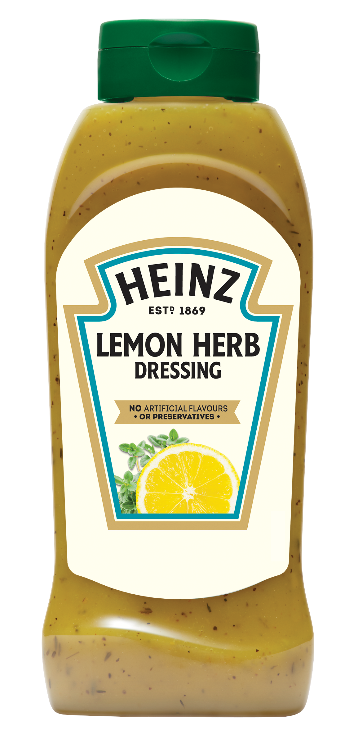 Heinz Lemon & Herb Dressing 800ml Up Right image