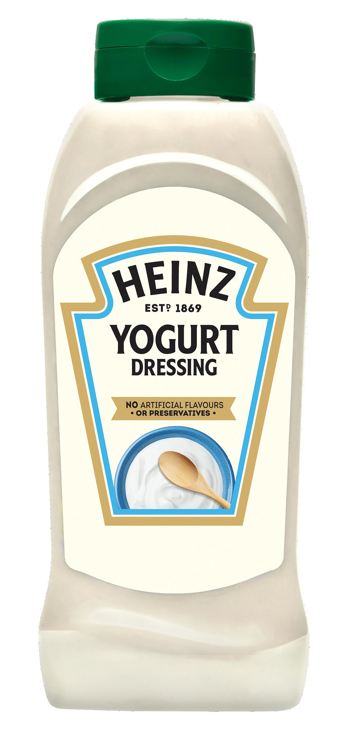 Heinz Yoghurt Dressing 800ml Up Right image