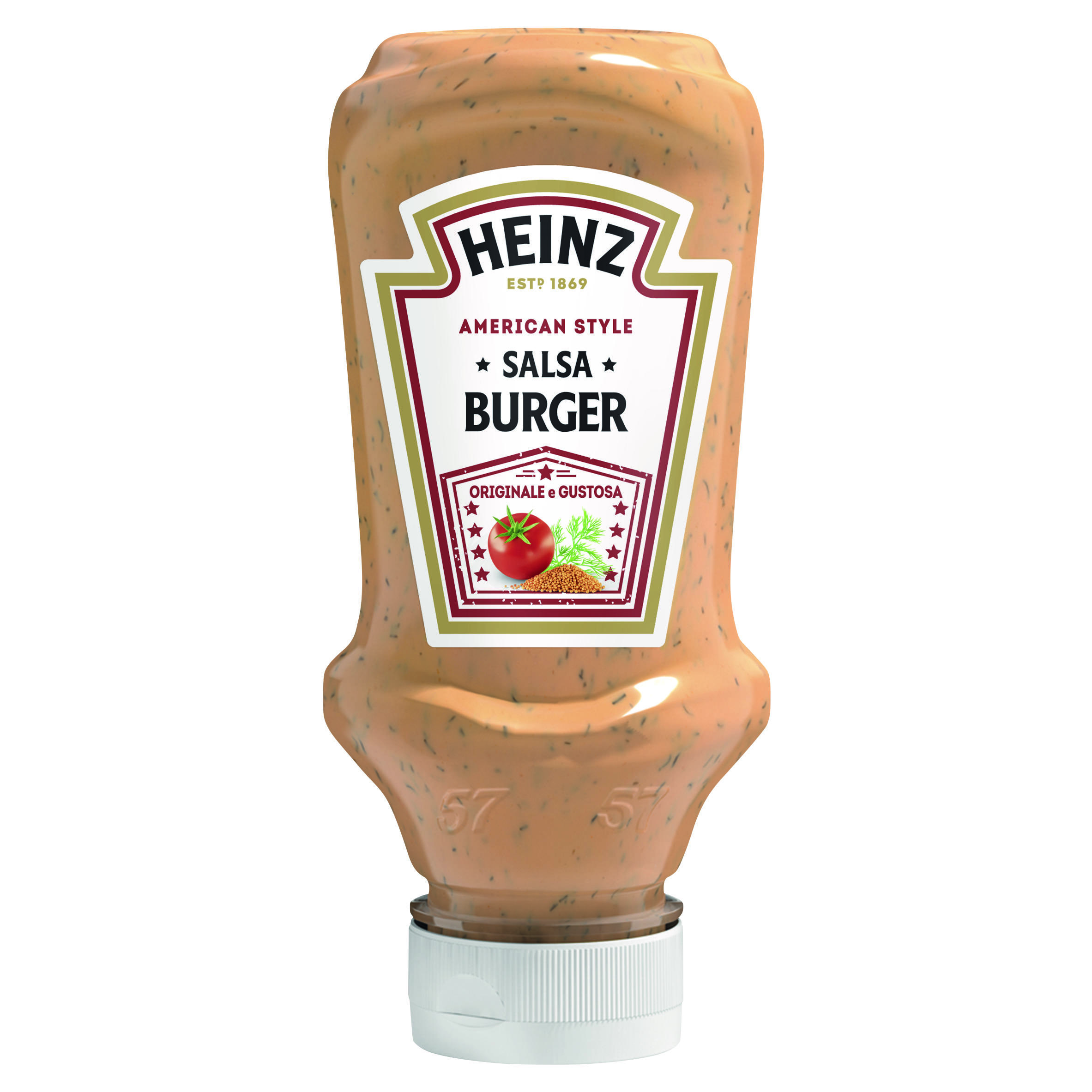 Heinz Salsa Burger 230g Top Down image