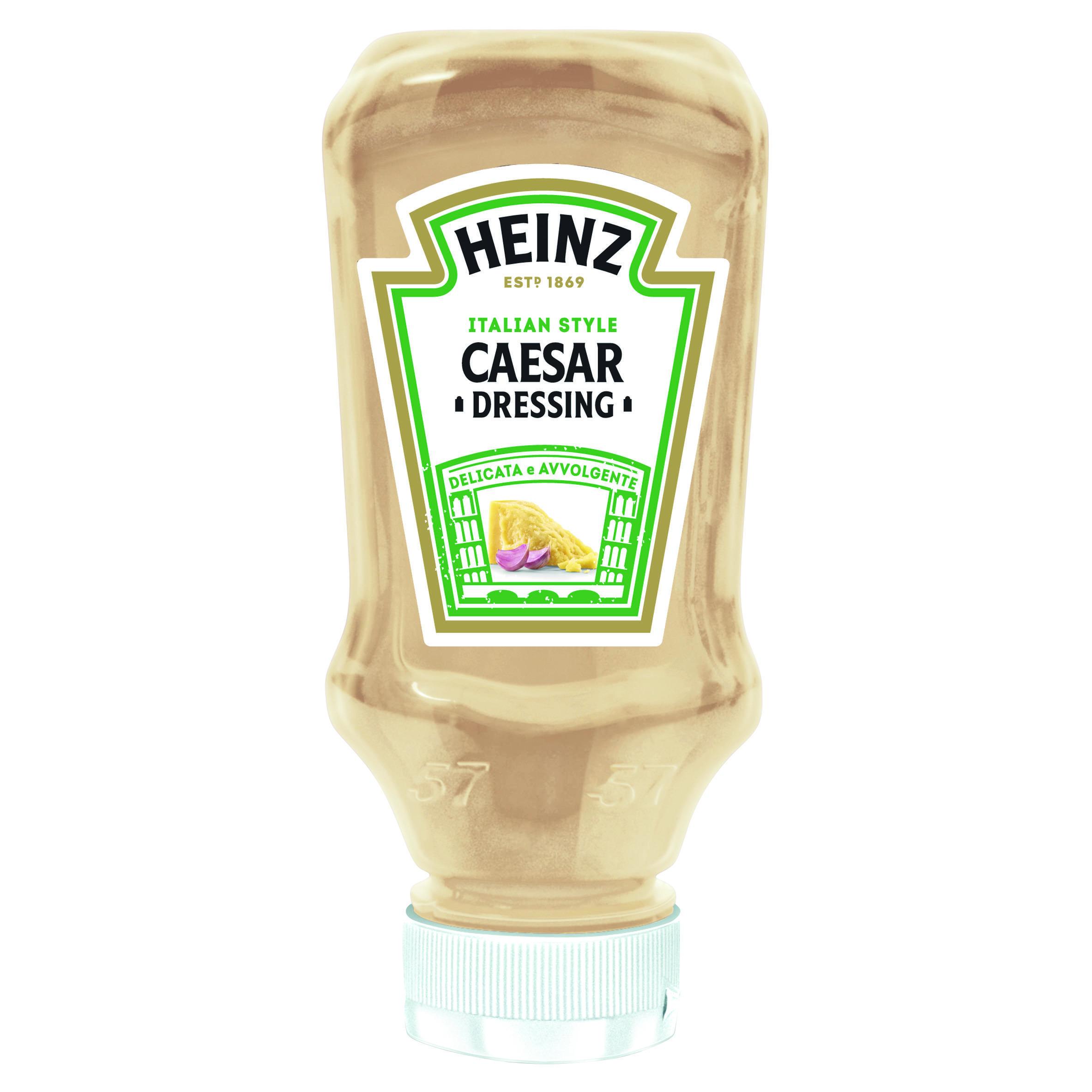 Heinz Salsa Caesar 225g Top Down image
