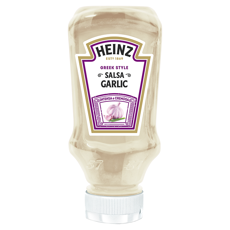 Heinz Salsa Garlic 225g Top Down image