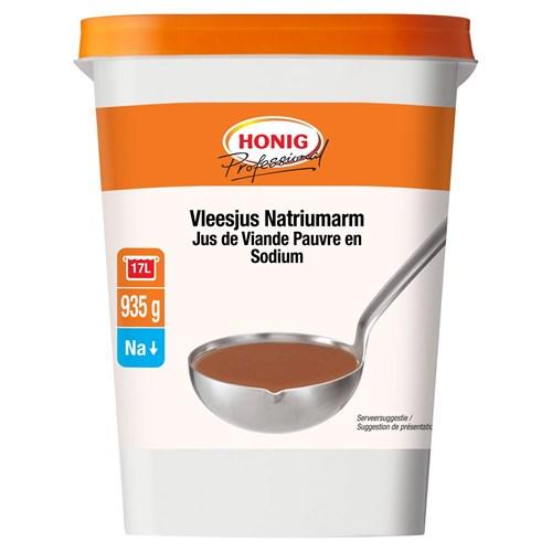 Honig Professional natriumarme vleesjus 935g Bus image
