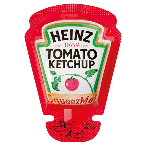 Heinz Tomato Ketchup Squeeze-me 26ml image