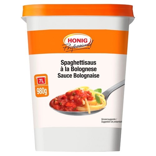 Honig Professional spaghetti bolognese 980g bus image