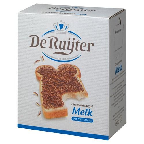 De Ruijter melk chocoladehagelslag doos 1.5kg image