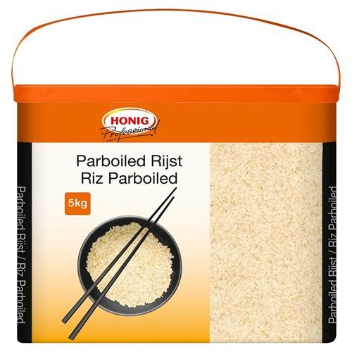 Honig Professional voorgekookte rijst 5kg emmer image
