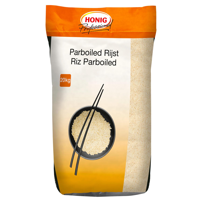 Honig Professional Voorgekookte rijst 20kg Emmer image