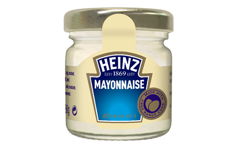 Heinz Mayonnaise 33ml image
