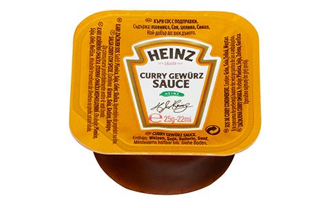 Heinz Curry Gewurz dippot 25ml image