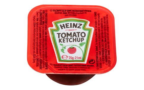 Heinz Tomato Ketchup dippot 25ml image