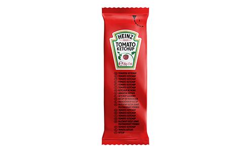 Heinz Tomato Ketchup sachet 17ml image