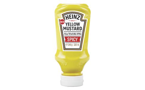 Heinz Hete mosterd fles 220ml image
