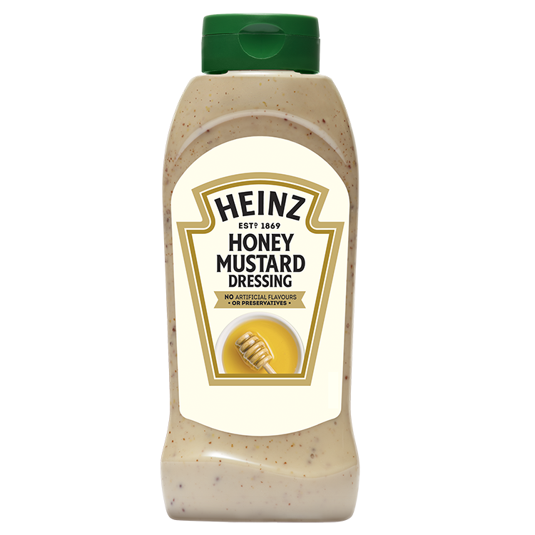 Heinz Honing & mosterd Dressing fles 800ml image