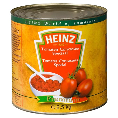 Heinz Tomatenblokjes blik 2.5kg image
