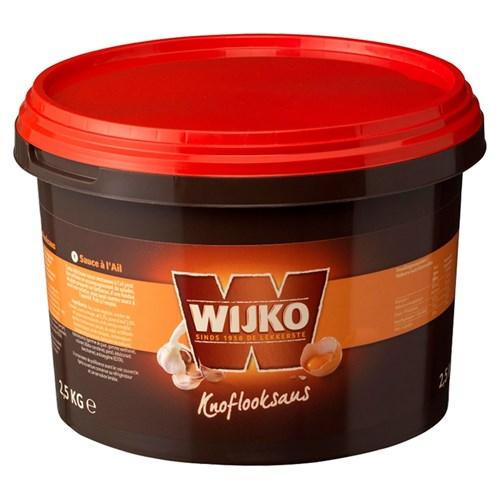 Wijko knoflooksaus 2.5kg emmer image