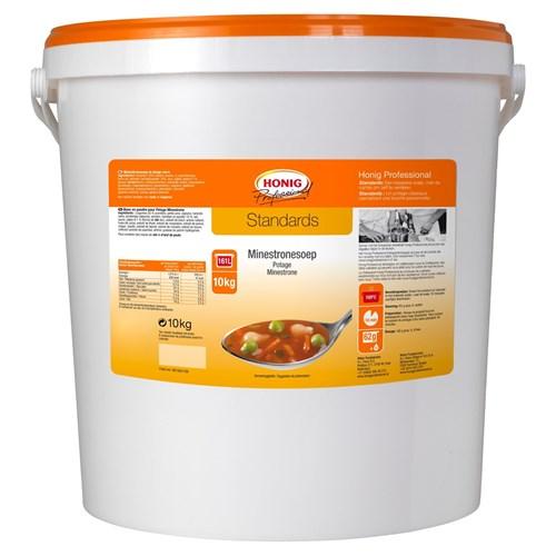 Honig Professional rijkgevulde rode soep 10kg emmer image