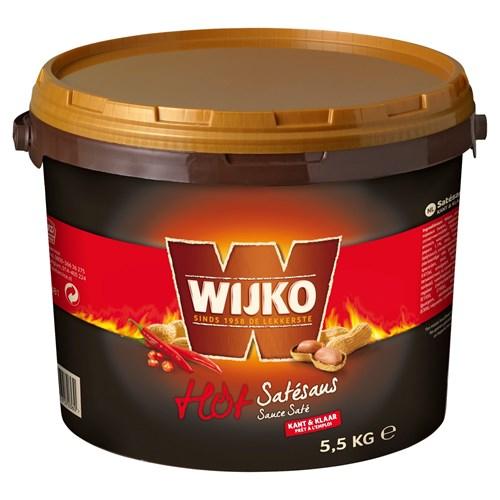 Wijko satésaus pikant 5.5kg Bus image