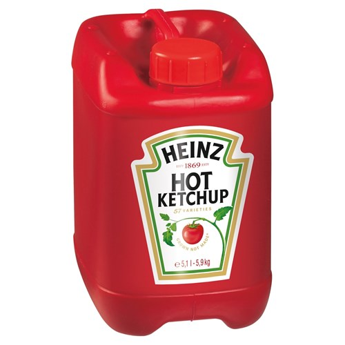 Heinz Tomato Ketchup Hot 5.9kg Emmers image