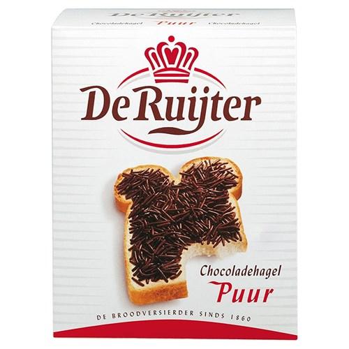 De Ruijter pure chocoladehagelslag doos 1.5kg image