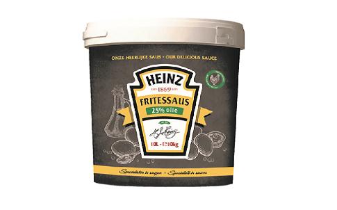 Heinz Fritessaus 25% Olie 10L emmer image