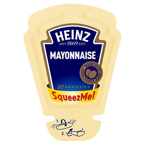 Heinz Seriously Good Mayonaise Squeeze-me 26ml image