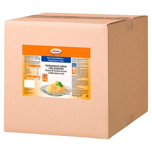 Honig Professional Aardappelpuree laag in zoutgehalte 3kg zak image