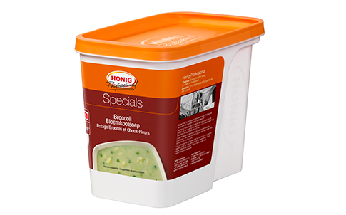 Honig Professional broccoli-bloemkool soep 810g Bus image
