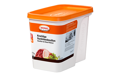 Honig Professional krachtige rundvleesbouillon 1.16kg Bus image