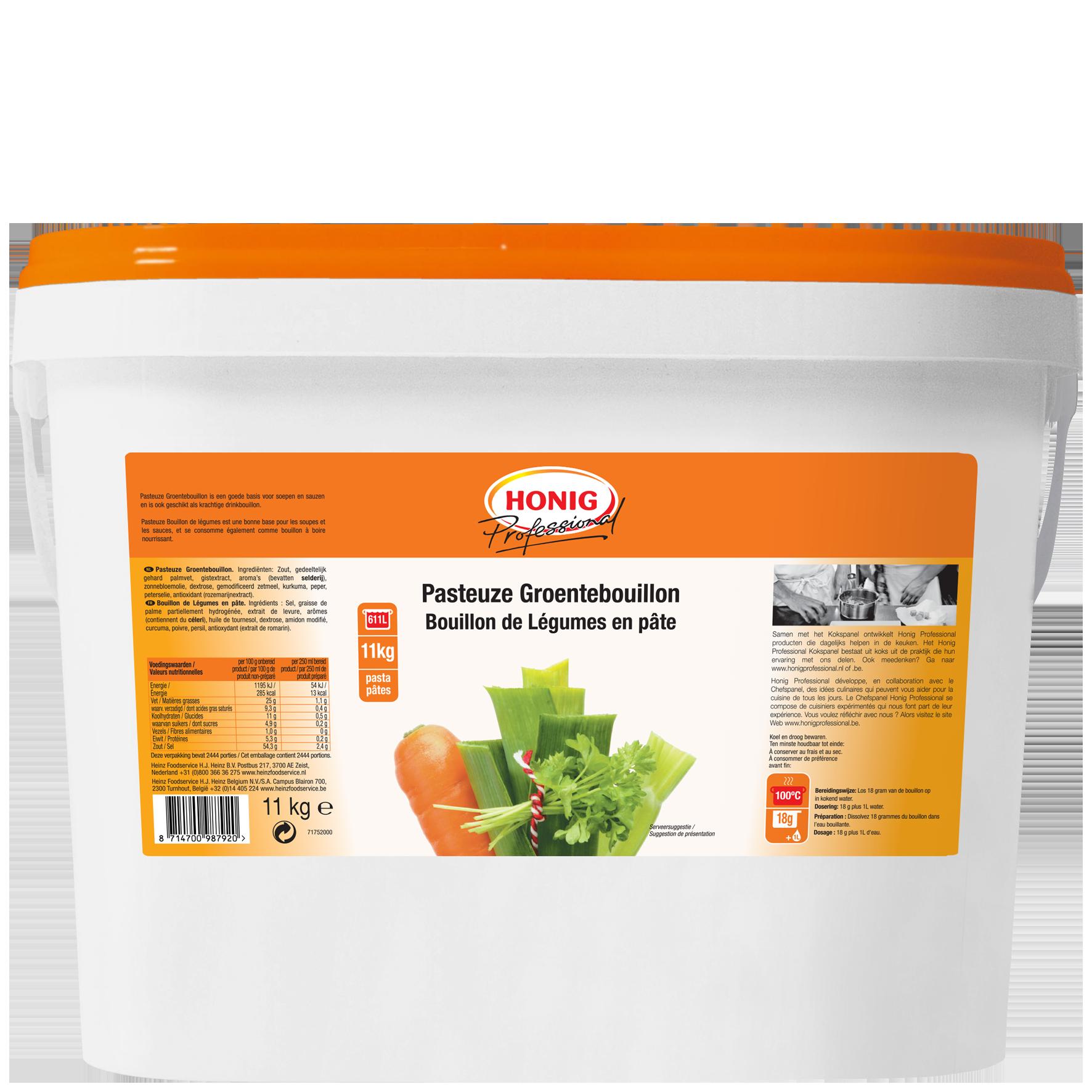 Honig For Professional Bouillon De Légumes 11L image