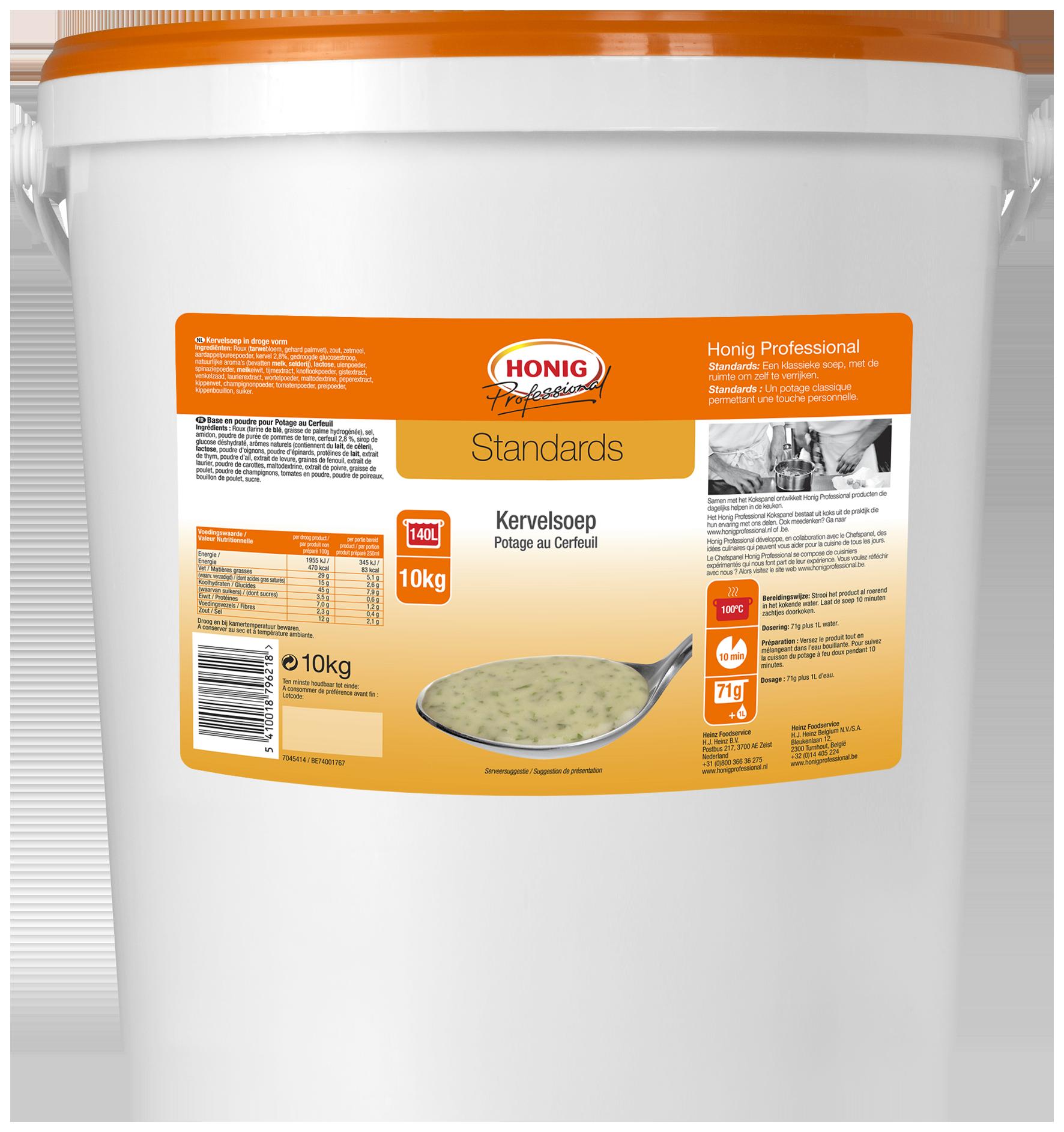 Honig For Professional Potage Au Cerfeuil 10L image