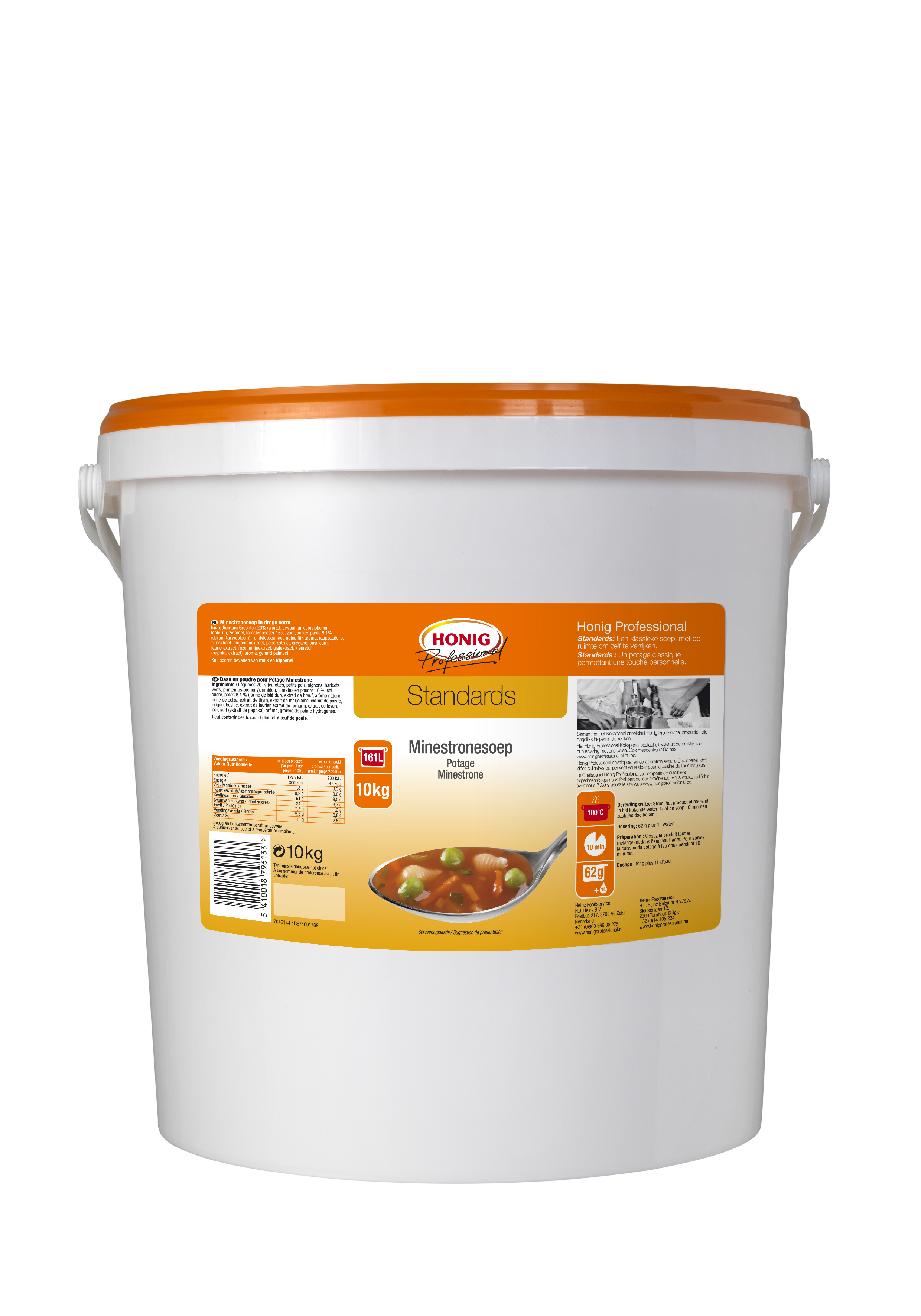 Honig For Professional Potage Minestrone 10L image