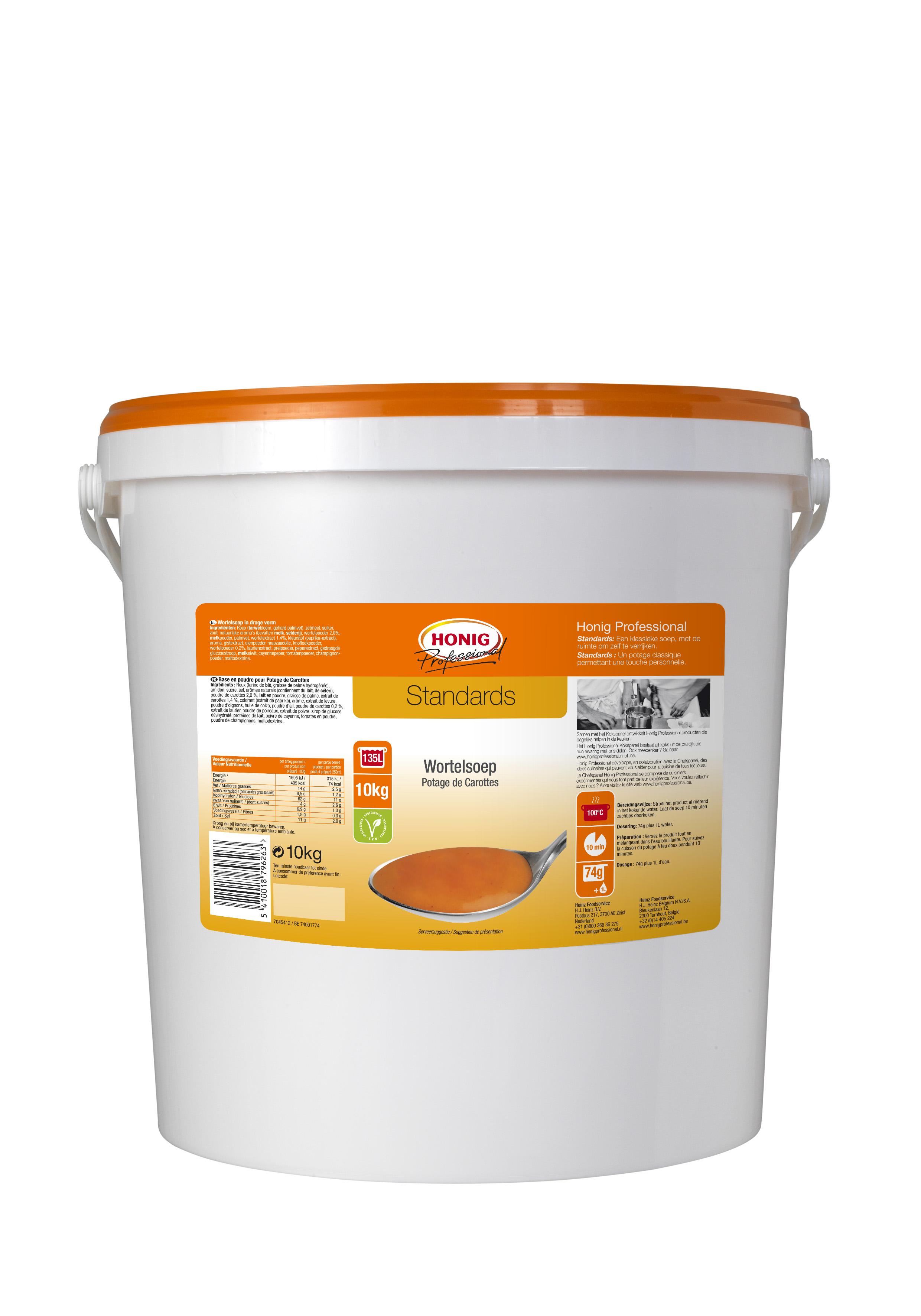 Honig For Professional Potage De Carottes 10L image