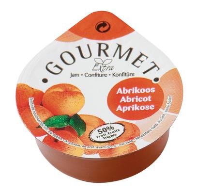 Gourmet abrikozenjam 25ml dippot image