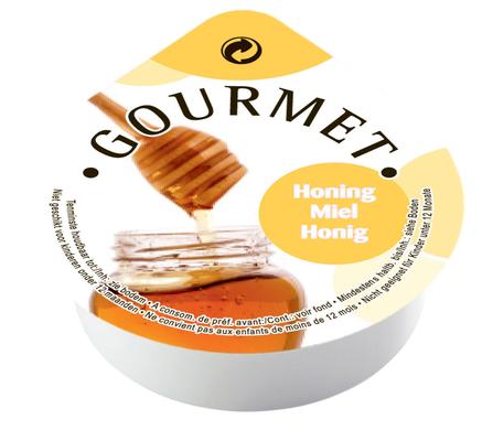 Gourmet honingjam 20ml dippot image