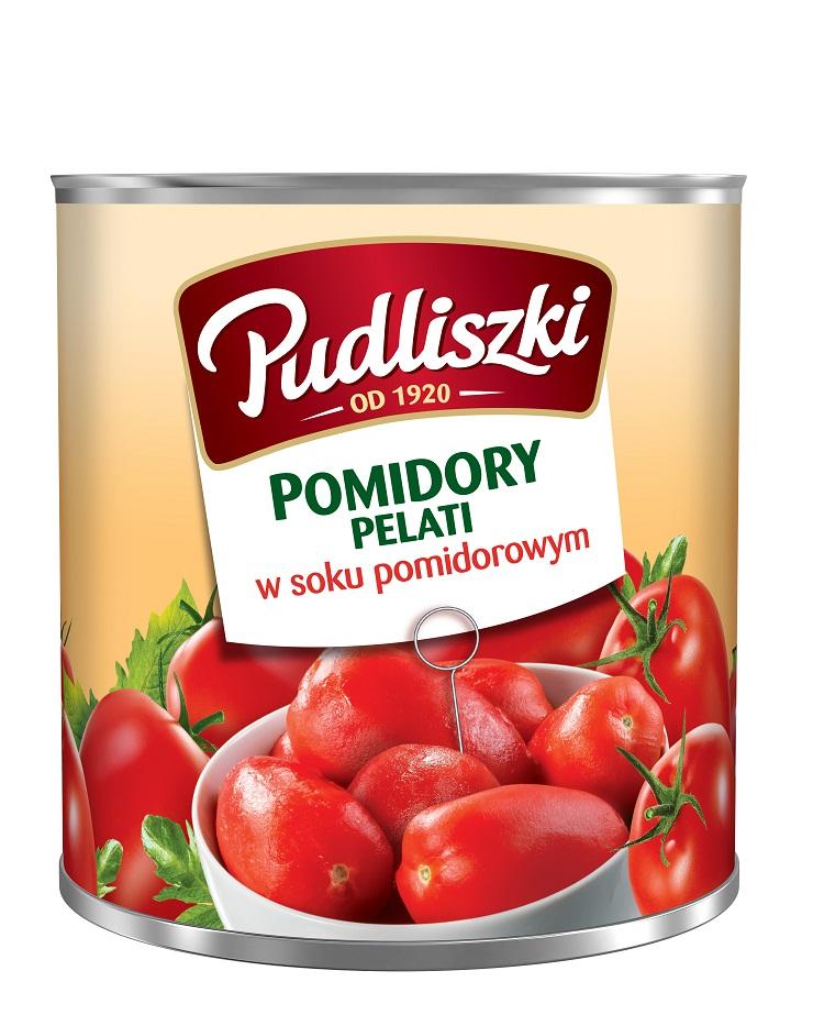 Pomidory pelati Pudliszki 2.5kg puszka image