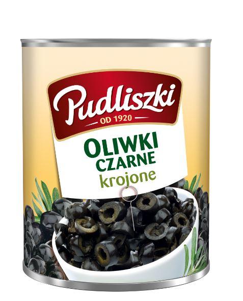 Oliwiki czarne krojone Pudliszki 3kg puszka image