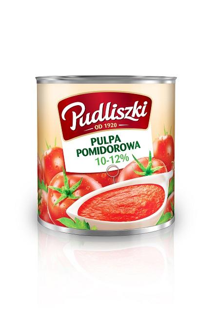 Pulpa pomidorowa Pudliszki 2.5kg puszka image