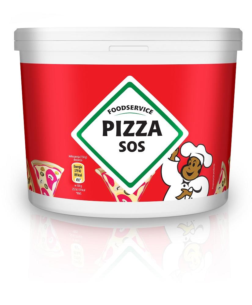 Sos do pizzy Pudliszki 10kg wiadro image