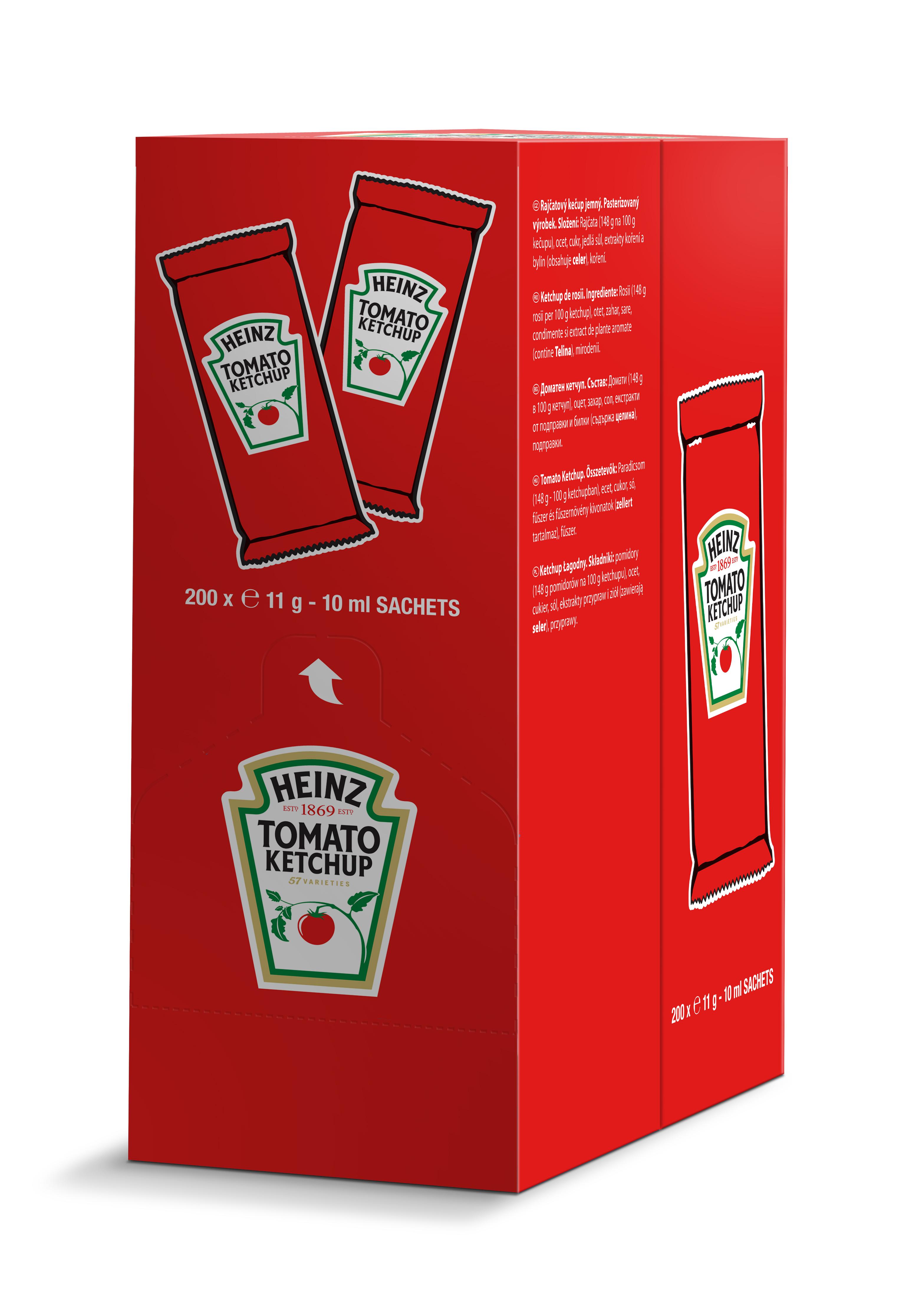 Ketchup Heinz 10ml saszetka image