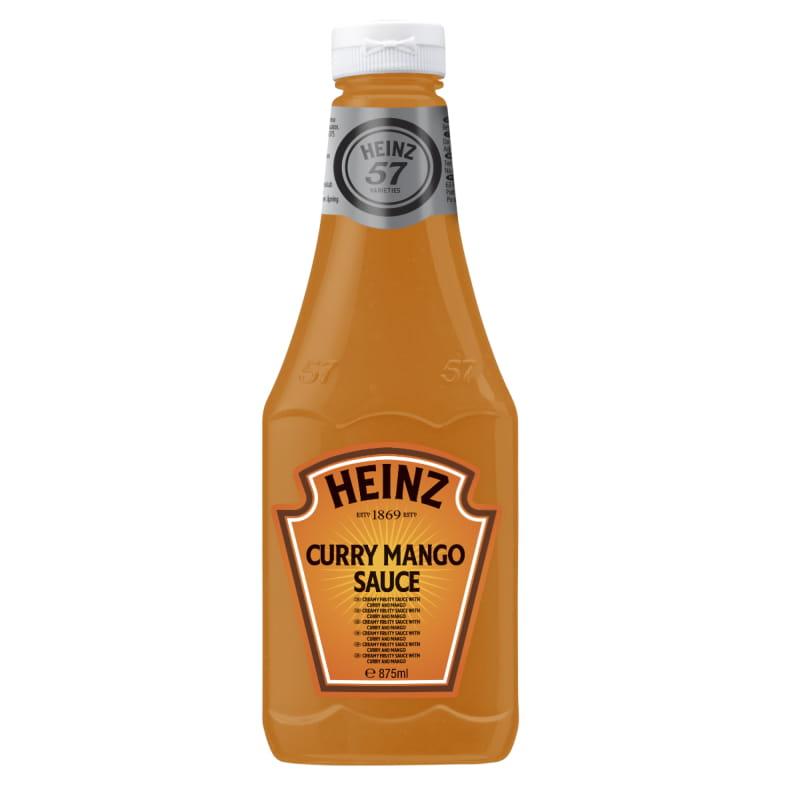 Sos curry mango 875ml plastikowa butelka duża image