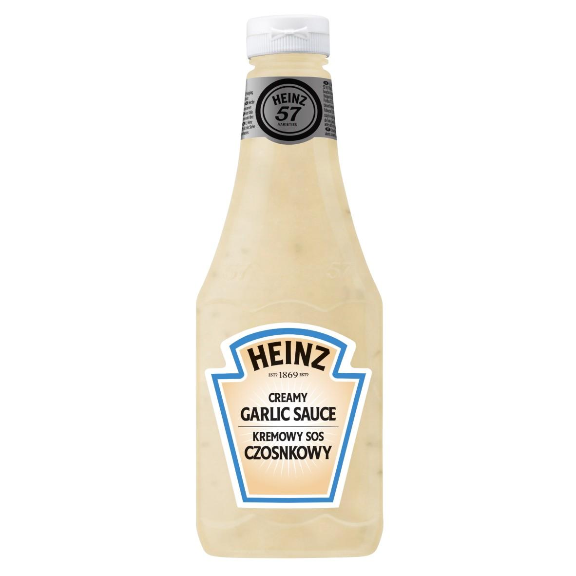 Sos czosnkowy Heinz 875ml plastikowa butelka duża image