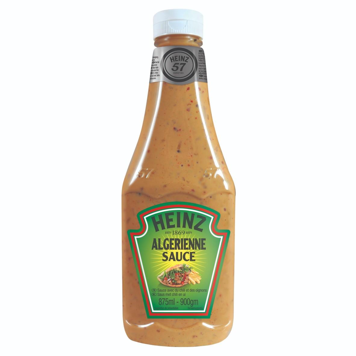 Sos algierski 875ml plastikowa butelka duża image