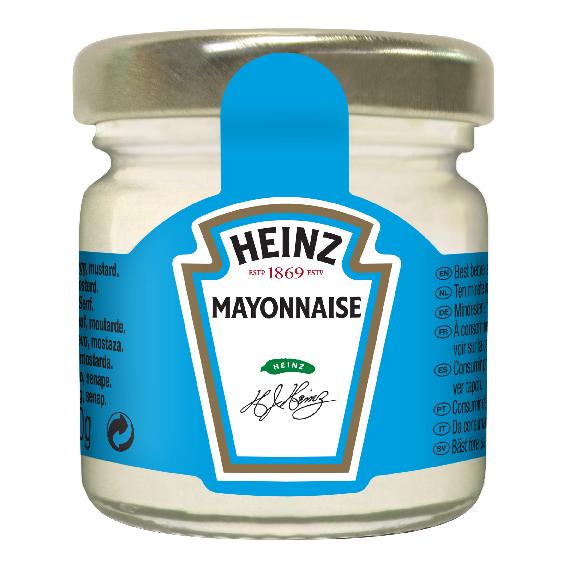 Majonez Heinz 33ml słoiczek roomservice image